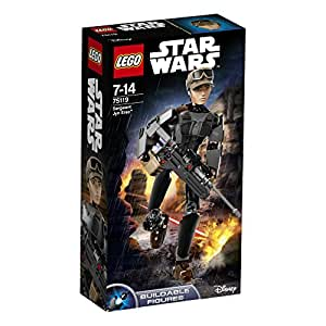 LEGO Star Wars Buildable Figures 75119 - Sergeant Jyn Erso, 7-14 Anni