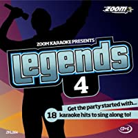 Zoom Karaoke CD+G - Legends Volume 4