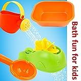 YIMORE Conjunto de juguetes de baño playa 4 Piezas Juego Educativo para Ninos