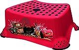 Taburete con Escalón antideslizante para niños CARS de OKT color: rojo