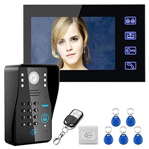 CFPacrobaticS Diebstahlsicherer 7-Zoll-LCD-Touchscreen Mit RFID-Kennwort, Video-Telefon, Gegensprechanlage, Kamerasystem, Türsicherheit, Sicherheit Zu Hause, Gepäckschrank, Schließfach * AU-Version