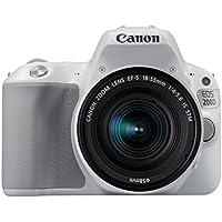 Canon EOS 200D - Cámara digital réflex de 24.2 MP (pantalla táctil de 3.0'', Wifi, Bluetooth, Dual Pixel CMOS AF, Full HD) - kit cuerpo con objetivo EF-S 18-55 IS STM