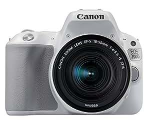 Canon EOS 200D WHEF-S 18-55mmf/4-5.6 IS STMSL EU26 Appareil photo numérique 25.8 Mpix Zoom optique 10 x Bluetooth/NFC/Wi-Fi Blanc