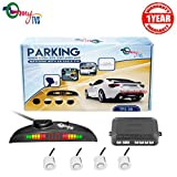 #3: myTVS TPS-38 White Reverse Car Parking Sensor LED Display(1 Yr Warranty)-For All Cars
