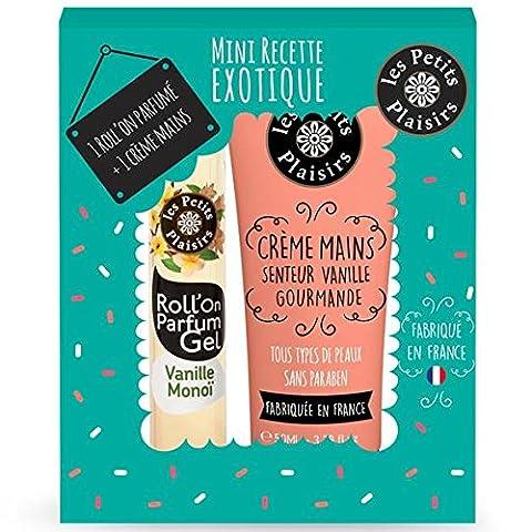 Die kleinen Freuden Koffer Mini Rezept exotischen Perfect Match Roll Man + Creme für Hände