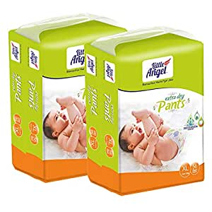 Little Angel Baby Diaper Pants, Extra Large - 112 Count