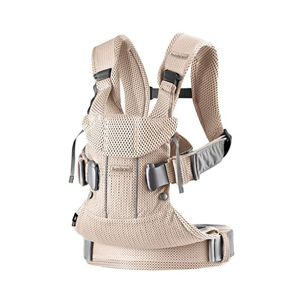 BABYBJÖRN Baby Carrier One, Cotton Mix, Black, 2018 Edition Baby Bjorn The latest version with soft and breathable mesh that dries quickly Ergonomic baby carrier with excellent support 4 carrying positions: facing in (two height positions), facing out or on your back 1