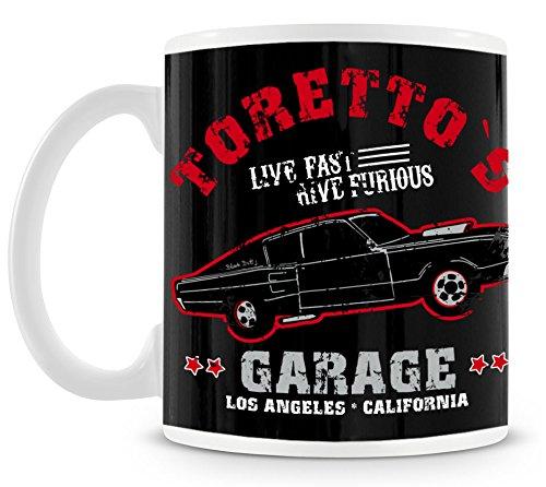 TLM Toretto Garage Tasse (Street Walker Halloween Kostüm)
