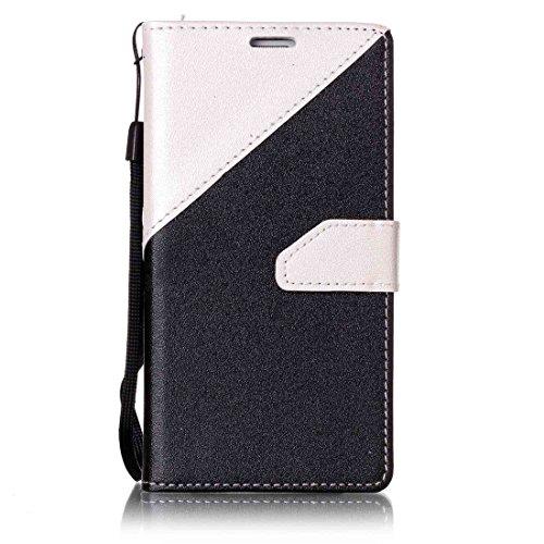 Nancen Compatible with Handyhülle Galaxy S5 / I9600 SM-G900F (5,1 Zoll) Hülle PU Leder Tasche Schutzhülle Flip Case Wallet für, Magnetverschluss Standfunktion Brieftasche und Karten Slot