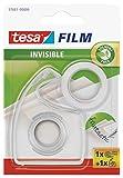 Tesa film matt-unsichtbar, 33m:19mm + Handabroller transparent im Blister
