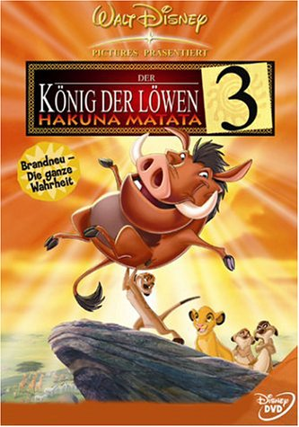 Walt Disney Der König der Löwen 3: Hakuna Matata (2 DVDs)