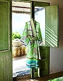 Bassetti Sorrento Kimono, Baumwolle, Grün, 140 x 70 x 1 cm in