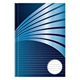Stylex 76370 Kladde A4, liniert, blau