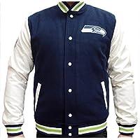New Era Herren Jacken/Übergangsjacke Team Apparel Varsity Seattle Seahawks