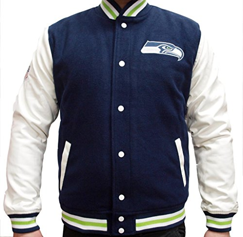New Era NFL Seattle Seahawks College Varsity Jacket Mens Special Limited Edition