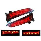 #10: Back Bumper LED DRL Light For Hyundai Creta lamborghini Style