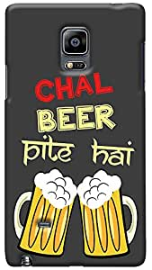 Kasemantra Chal Beer Pite Case For Samsung Galaxy Note Edge
