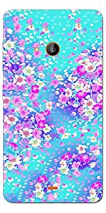 SEI HEI KI Designer Back Cover For Microsoft Lumia 540 - Multicolor