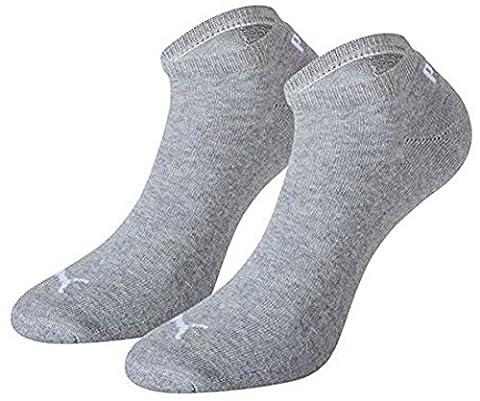 Puma Sneaker Unisex Socken 4Paar mit Frotteesohle Gr. 43-46