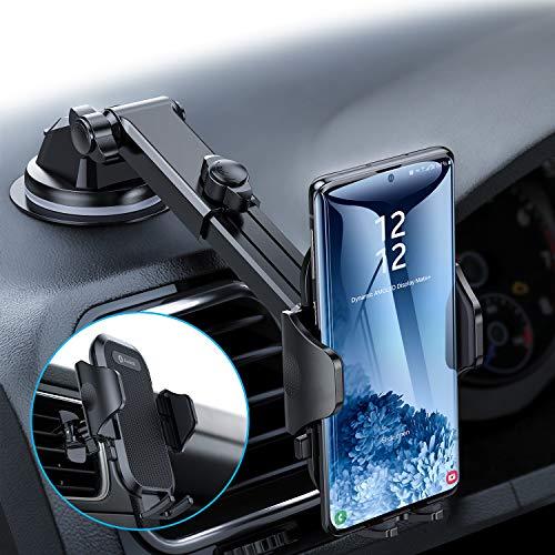 andobil Handyhalterung Auto Handyhalter fürs Auto 3 in 1 Lüftung & Saugnapf Halterung Upgrade 4,0 Ultra Stabile KFZ Smartphone Halterung für iPhone11/11 Pro/Xr/Samsung S20/S10/A50/HUAWEI Xiaomi LG usw