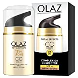 Olaz Total Effects 7in1 CC Cream Crema Correttore Giorno, Medio-Scuro, 50 ml