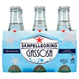 SANPELLEGRINO Bibite Gassate, GASSOSA Clavetta Vetro 20cl x 6