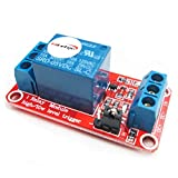 HiLetgo 5V 1 Channel Relay Module With OPTO Isolation Support High or Low Level Trigger