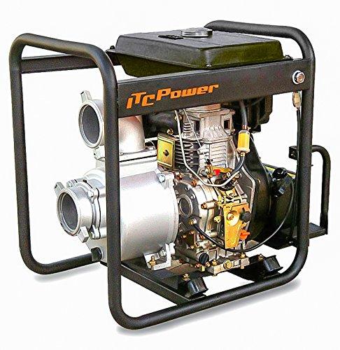 DP80LE, Motobomba Gasoil ITC POWER de 3 pulgadas. Arranque electrico