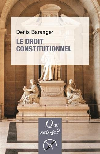 Le droit constitutionnel par