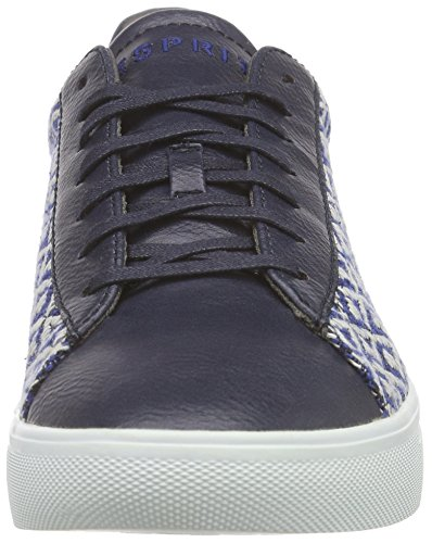 Esprit Lizette Lace Up, Baskets Basses Femme Bleu - Blau (415 ink)
