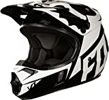 Fox casque junior en V 1 Race, Black, Taille YM