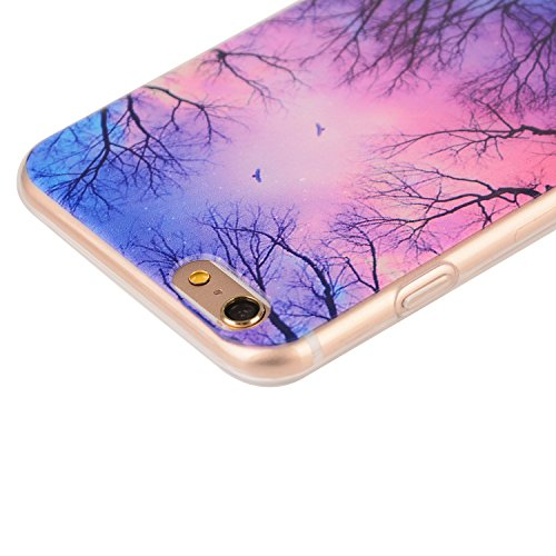 TPU Coque Apple iPhone 6 (4.7 pouces),Housse Slim Coque Transparent Etui, Apple iPhone 6 (4.7 pouces) Case Souple TPU Bumper Protective Cover Skin, Crystal Clear Couverture Arrière Etui de Protection  3