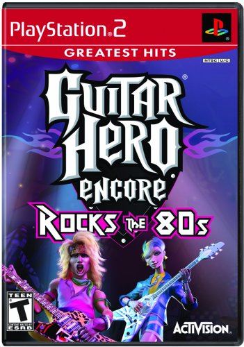 Guitar Hero Encore: Rocks the 80s Greatest Hits - PlayStation 2 (Greatest Hits-ps2)