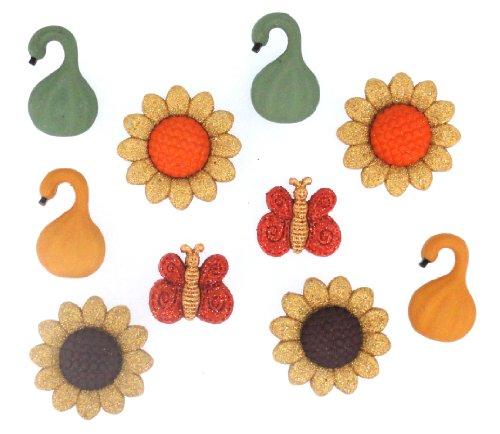 USA Produkt - Kleid It Up Herbst & Halloween Embellishments-Golden Harvest