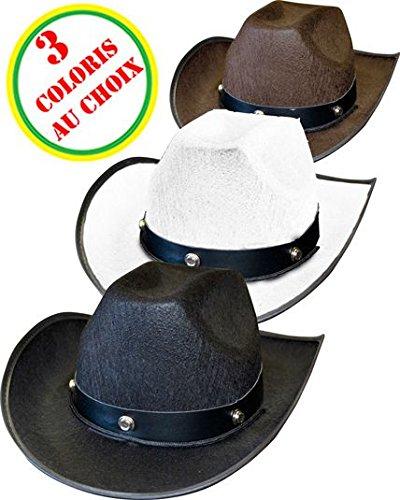 Chapeau cowboy adulte avec -