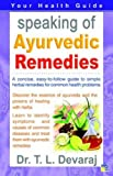 Speaking of Ayurvedic Remedies (Speaking of S)