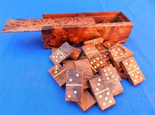 new-moroccan-dominoes-burred-thuya-wood-hand-crafted-game-in-box-fair-trade-gift-by-equal-earth