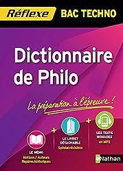 Dictionnaire de Philo Bac Techno
