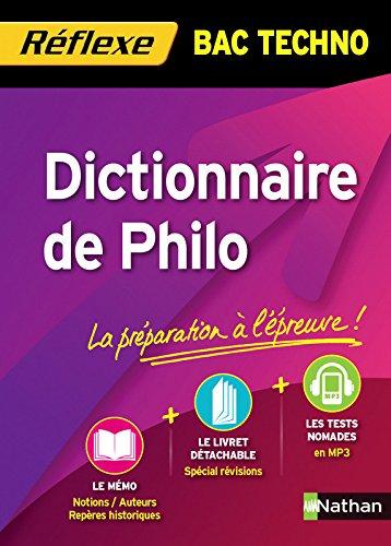 Dictionnaire de Philo - Bac Techno