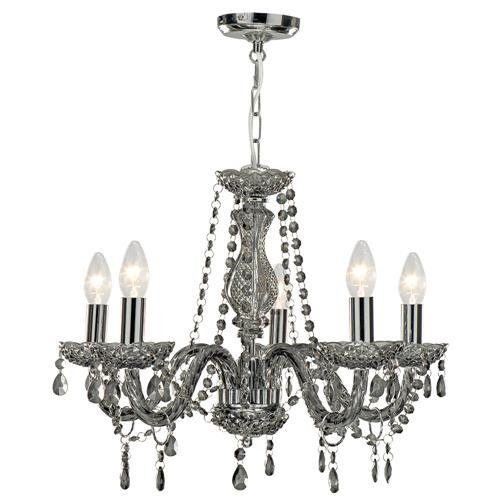 Searchlight Marie Therese 8695-5GY 5 Chandelier