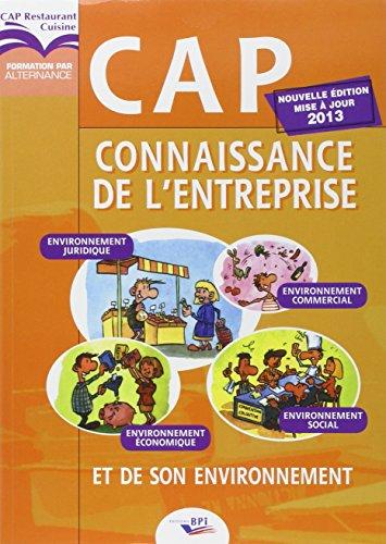 CAP Connaissance de l'Entreprise