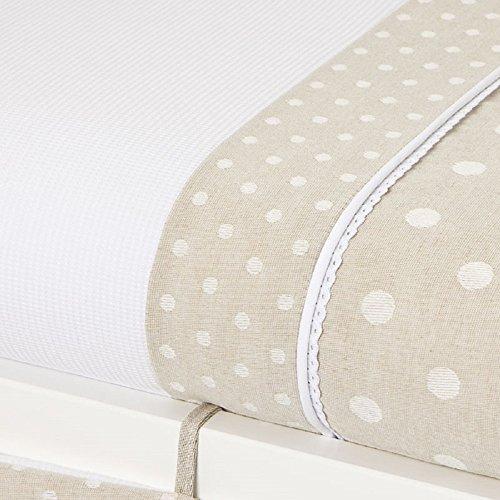 Bolín Bolón 1953243018300 - Textil para minicuna, color beige