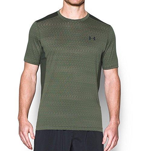 under-armour-ua-raid-jacquard-ss-t-camisa-casual-hombre-verde-downtown-green-sm