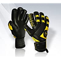 GK Saver Negative Cut Football Goalkeeper Gloves Goalkeeping Professional Gloves Size 6 TO 11