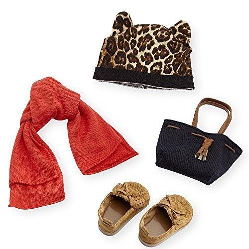 Journey Girls Voyage Filles Leopard Bonnet et Pantoufles Charentaises Mode Ensemble d'accessoires