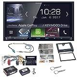 Kenwood DMX-7017BTS Bluetooth Carplay Android Auto USB MP3 Autoradio Einbauset Audi TT 8J