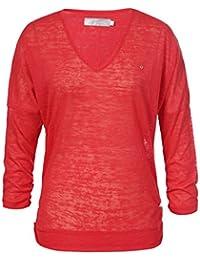 Luhta hellevi – Jersey para Mujer Rojo Rojo Coral Talla L 2aea86a19559