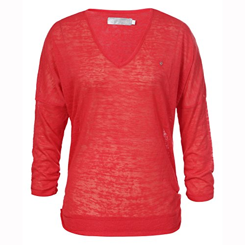 LUHTA hellevi Pull pour femme Rouge - Rose