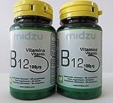 Vitamina B12 Midzu 100ug x 2 imballaggio