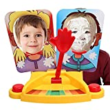 Lonlier Juego de mesa para 2 jugadores Pie Cara de Chantilly para niño y adulto Juego familiar